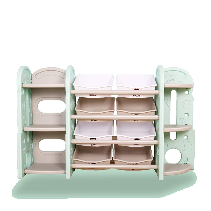 China Play School Plastic Furniture Toy Storage Bookshelves Factory Yongjia  Feiqi Toy Co.,Ltd